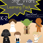 Free Star Wars Themed K-2 Learning Pack