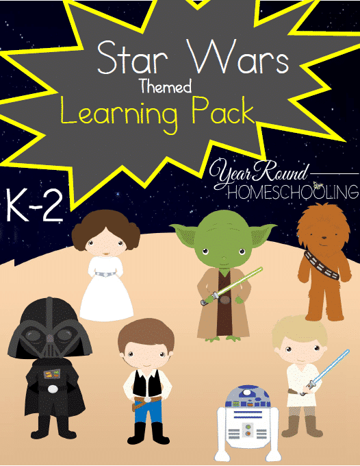Star Wars Themed K-2 Learning Pack