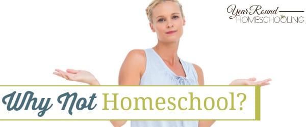 Why Not Homeschool?