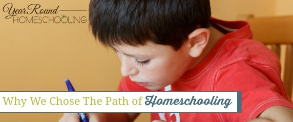 why homeschool, why we chose to homeschool, homeschool, homeschooling