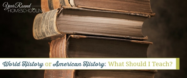 World History or American History: What Should I Teach?