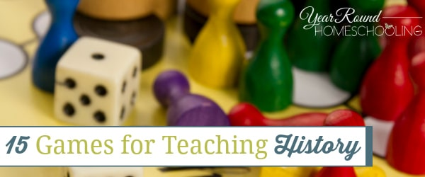 15 Games for Teaching History