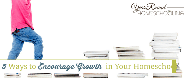 5 Ways to Encourage Growth in Your Homeschool