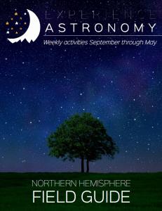 Experience Astronomy
