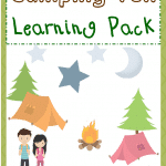Free Camping Fun 3rd-5th Learning Pack
