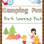 Free Camping Fun Pre-K Learning Pack