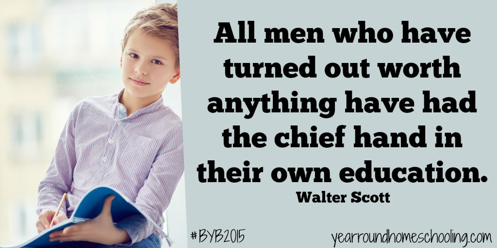 Education Quote - By Walter Scott