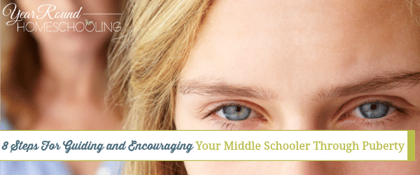 puberty, middle school, parenting, homeschool, homeschooling