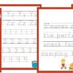 Free Camping Fun K-2 Learning Pack