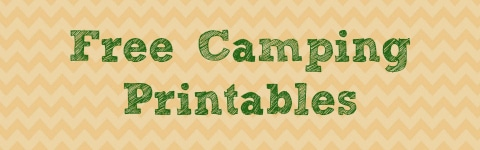 photograph relating to Free Printable Camping Signs referred to as Cost-free Tenting Product Investigation and Printables (Centre Higher education