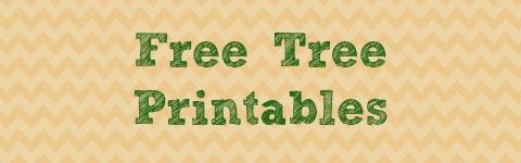 Free Tree Printables