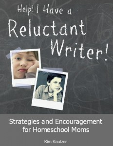 Help - I Have a Reluctant Writer Cover