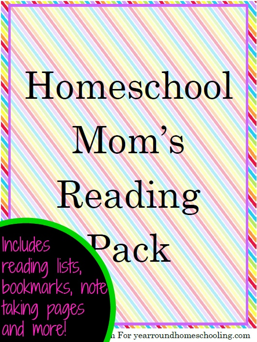 HomeschoolMomsReadingPackCover