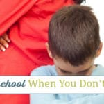 How to Homeschool When You Don't Want To
