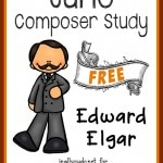 """June's Composer is Edward Elgar, the composer of the """"Graduation March"""" as it's most commonly known. Learn more about him this month with this fun and FREE Unit Study!! :: www.yearroundhomeschooling.com"""
