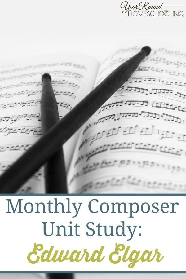 music, composer, edward elgar, homeschool, homeschooling
