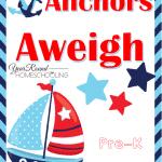 Free Anchors Aweigh PreK Fun Pack