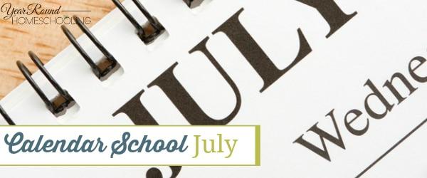 Calendar School – July