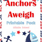 Free Nautical Printable Pack (Middle School)