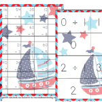 Free Nautical Math Pack (3rd-5th)