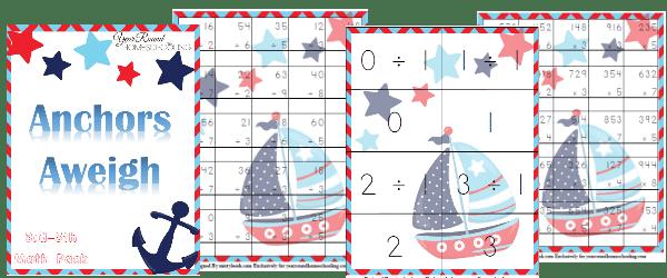 Free Nautical Math Pack (3rd-5th)