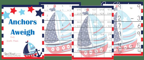 Free Nautical Math Pack (K-2)