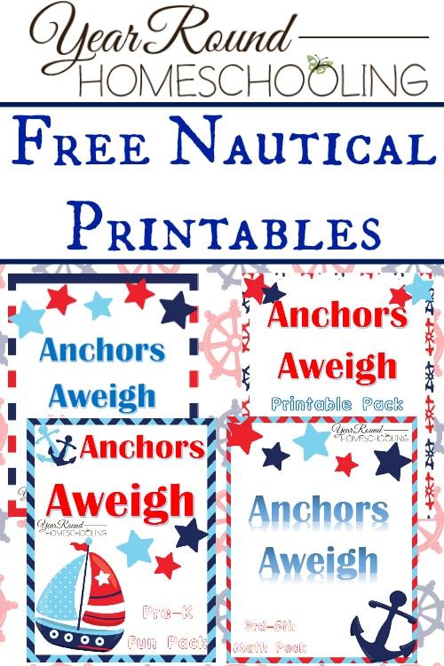 Free Nautical Printables - Year Round Homeschooling