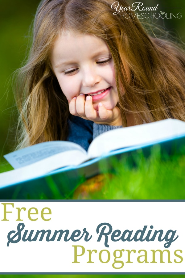 summer reading programs, reading programs, summer reading, summer, read, books, literature, reading, homeschool, homeschooling