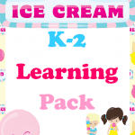 Free Ice Cream Learning Pack (K-2)