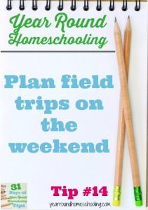 Year Round Homeschooling Tip #14