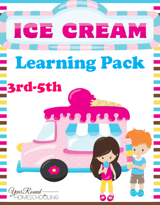 Ice Cream Learning Pack (3rd-5th)