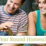 Experiencing Year Round Homeschooling