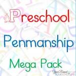 Free Preschool Penmanship Mega Pack