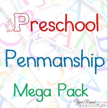 Preschool Penmanship Mega Pack