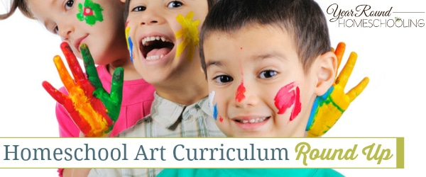 Homeschool Art Curriculum Round Up