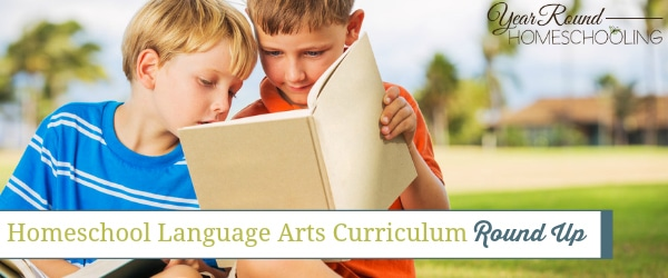 Homeschool Language Arts Curriculum Round Up