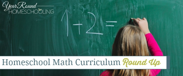 Homeschool Math Curriculum Round Up