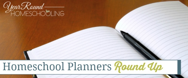 Homeschool Planners Round Up