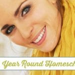 How to Plan a Year Round Homeschool Day