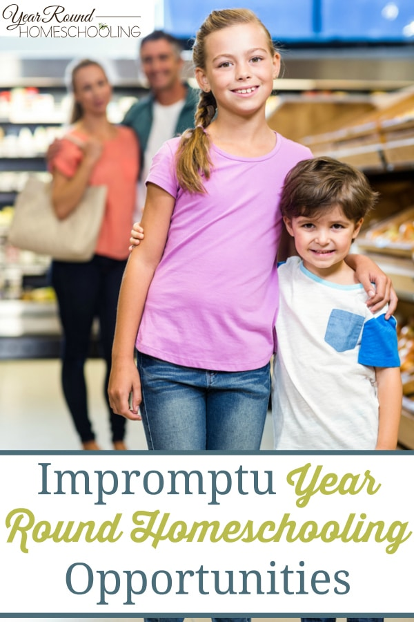 year round homeschooling opportunities, impromptu homeschool opportunities, homeschool opportunities