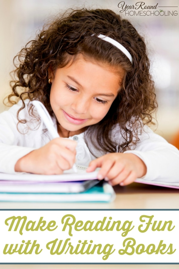 Make Reading Fun with Writing Books - By Misty Leask