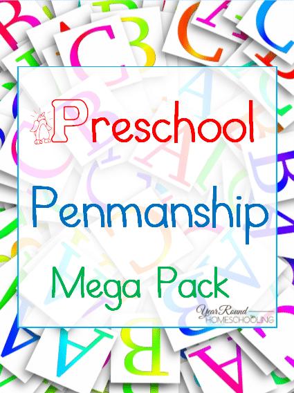 Free Preschool Penmanship Mega Pack Cover