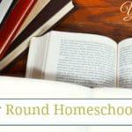 Seamless Year Round Homeschooling