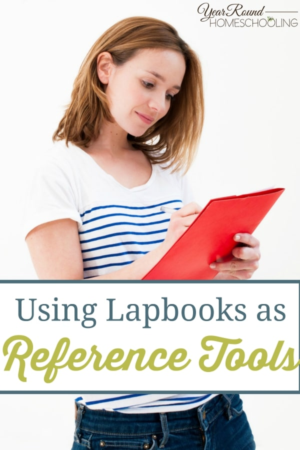 Using Lapbooks as Reference Tools - By Sara