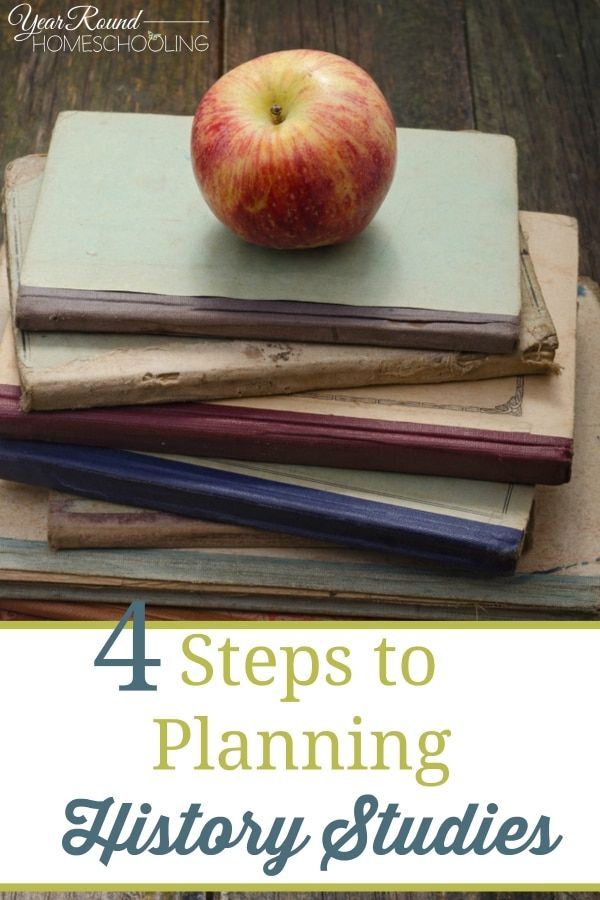 4 Steps to Planning History Studies - By Joelle