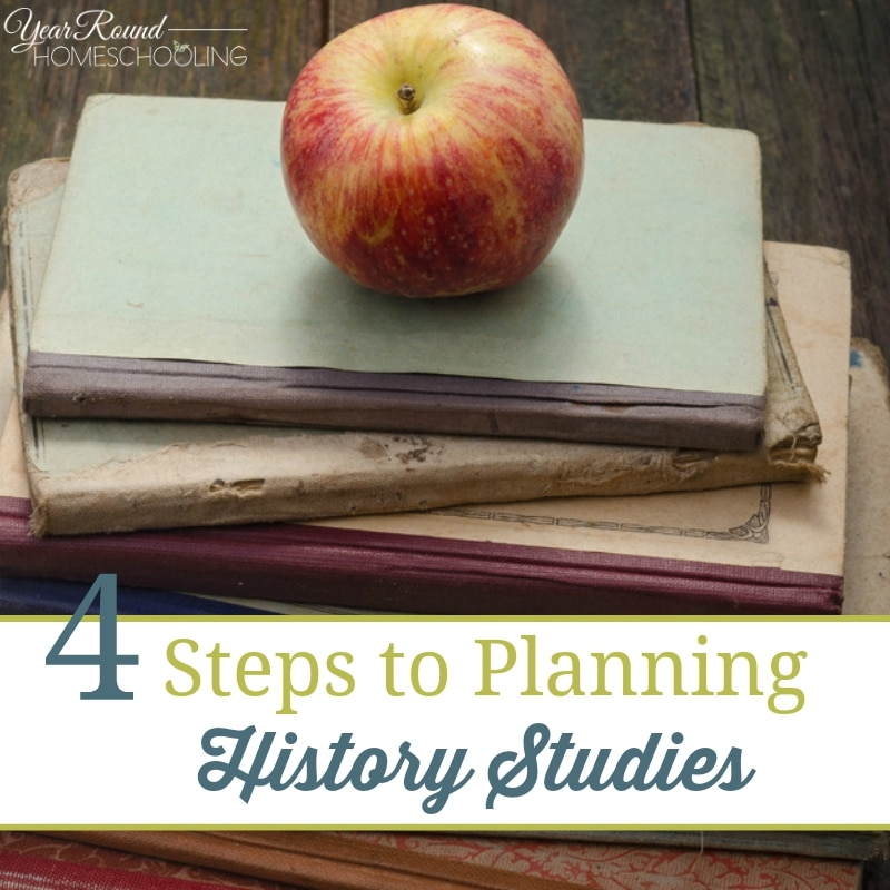 4 Steps to Planning History Studies