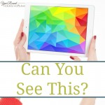 Can You See This?
