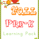 Free Fall PreK Learning Pack
