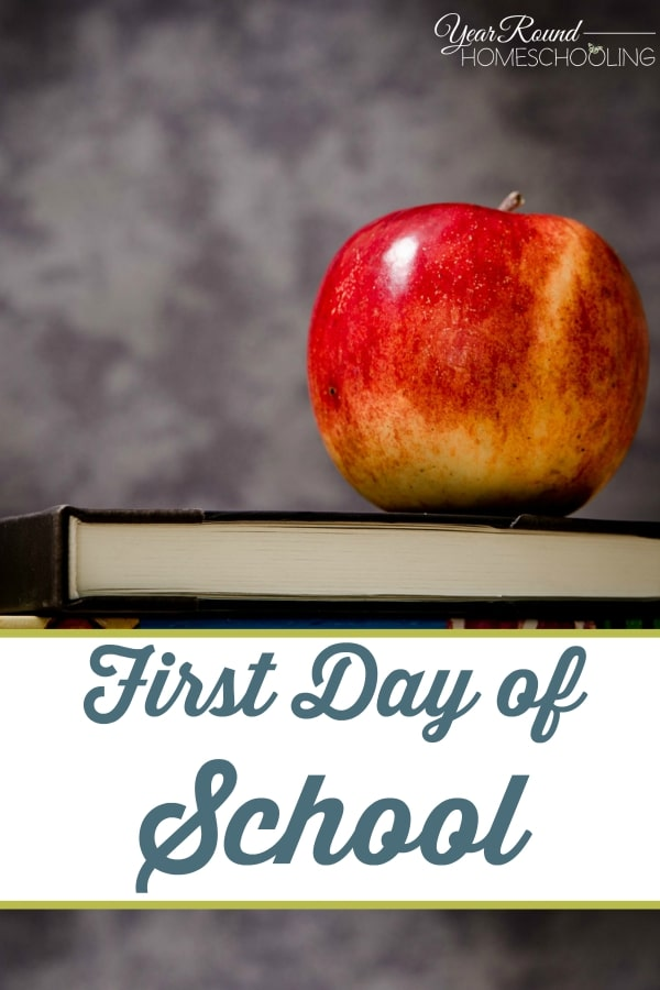 First Day of School - By Jennifer H.
