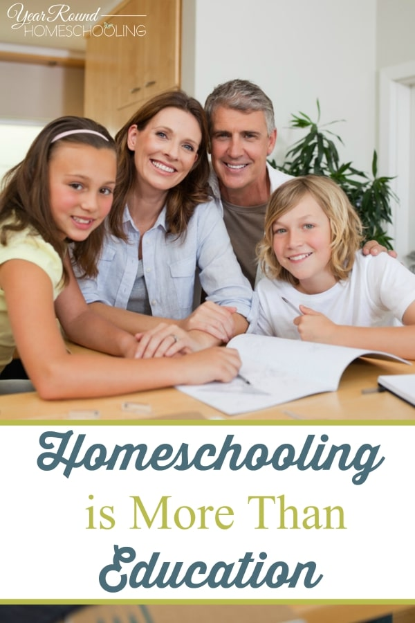 Homeschooling is More Than Education - By Misty Leask
